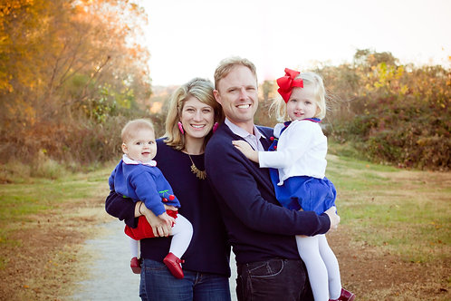 Habersham Co. Fall Family Sessions - Deposit