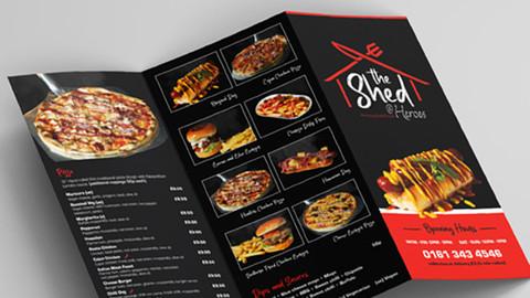 Shed Tri-Fold Leaflet