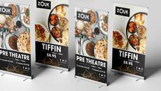 Zouk Restaurant Banners