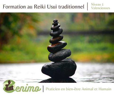 Initiation au reiki usui traditionnel ni
