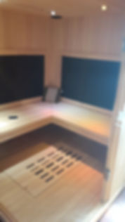 inside infrared sauna