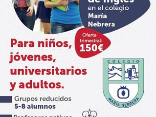 Abrimos Academia en el Colegio María Nebrera