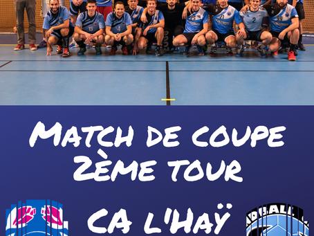 Match de coupe départementale - Séniors masculins