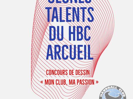 Jeunes talents du HBC Arcueil - Concours de dessin