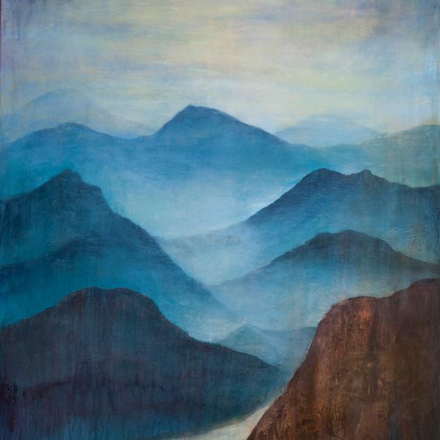 Blue Imagined Hills