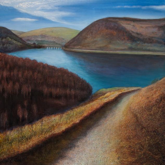 Winter Sun, Elan Valley Reservoir