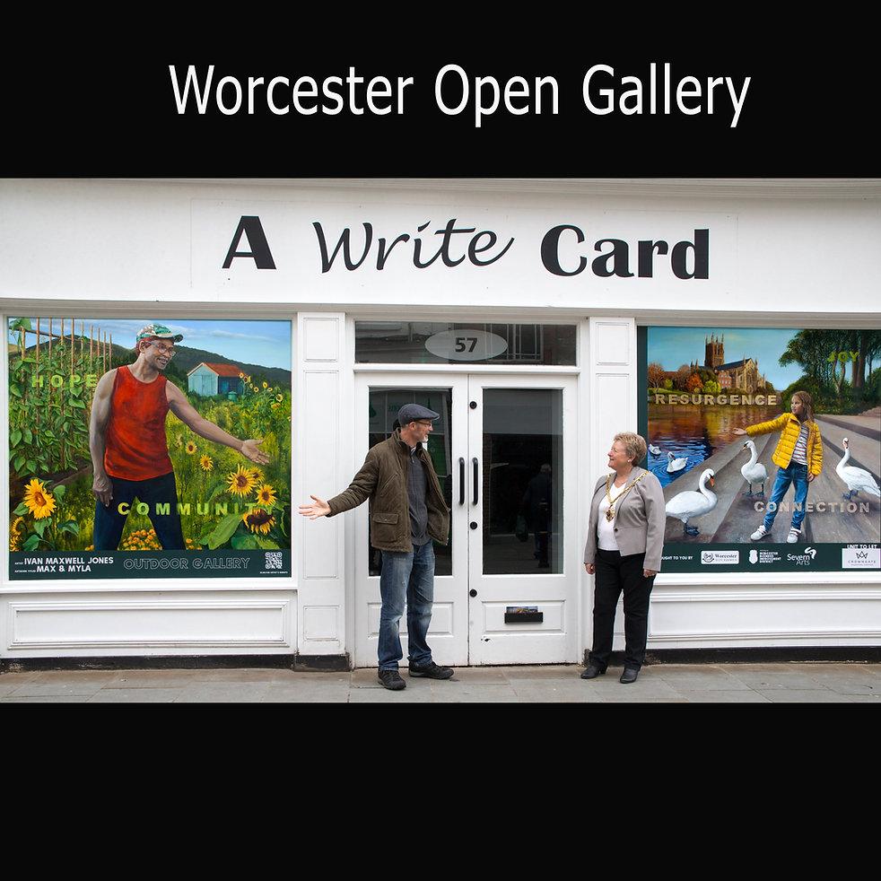 Ivan Maxwell Jones Worcester Open Galler