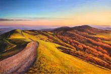 November sunset, malvern Hills 1.jpg