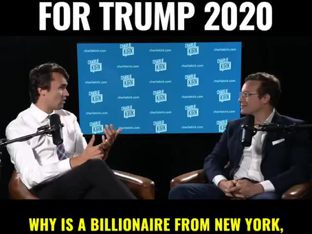 Charlie Kirk on the Trump Reelection