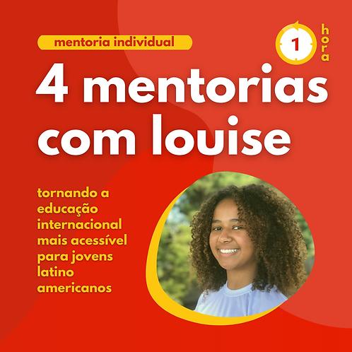 4 Mentorias com Louise