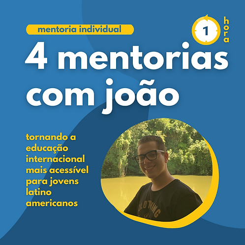 4 Mentorias com João