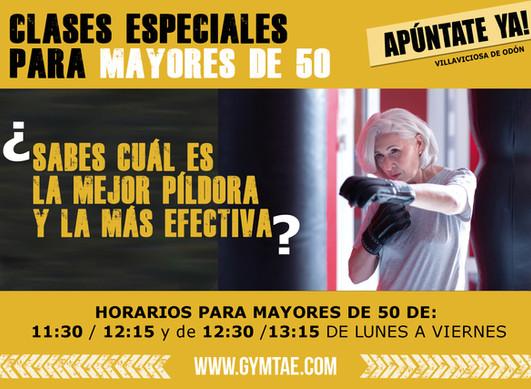 GYMTAE PARA MAYORES DE 50