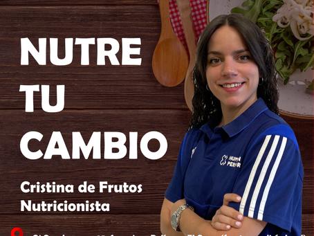 NUTRE TU CAMBIO - LANZAMOS NUEVO ÁREA DE NUTRICIÓN