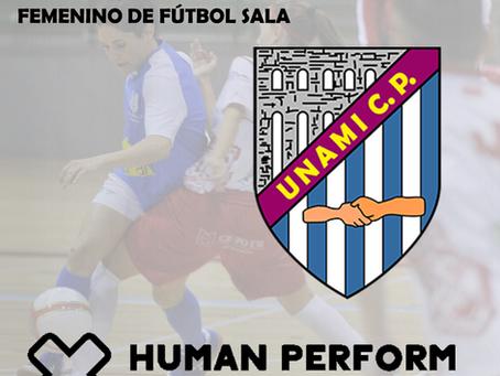 Human Perform asumirá por tercer año seguido la preparación física del Unami femenino de fútbol sala