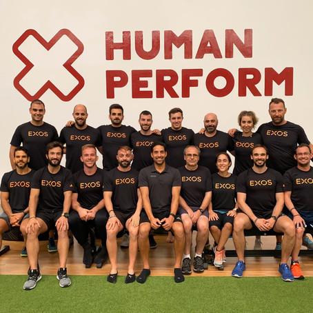Entrenamiento puntero en Segovia de la mano de Exos y Human Perform
