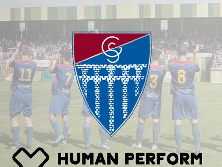 Human Perform, nuevo responsable de fisioterapia de la Gimnástica Segoviana