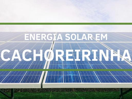 Energia solar em Cachoreirinha