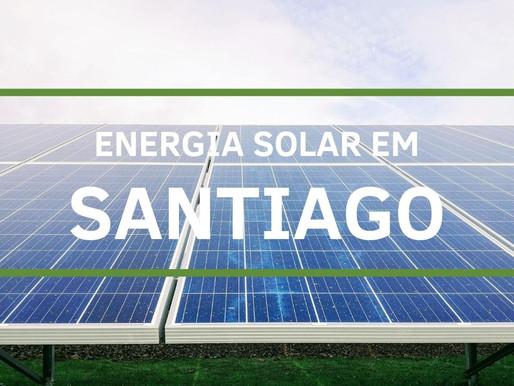 Energia solar em Santiago
