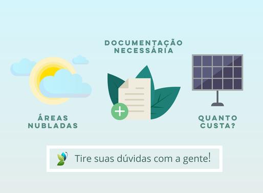 As perguntas mais frequentes sobre instalações de energia solar