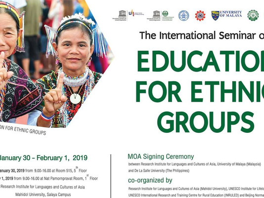 SEAMEO CELLL PARTICIPATES IN RESEARCH PROJECT ON EDUCATION FOR ETHNIC GROUPS