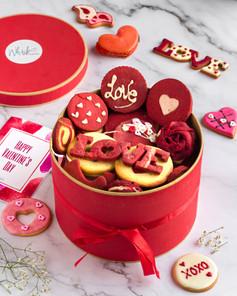 Red Velvet Cookie Box