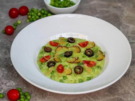 Green Peas Risotto