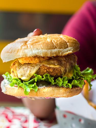 Southern  Smokehouse Veg Burger