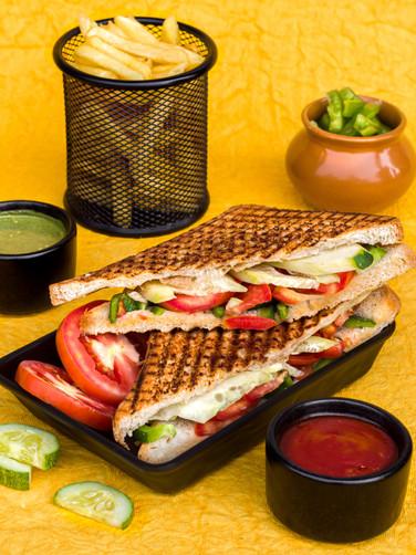 Grilled Loca Veg Sandwiches