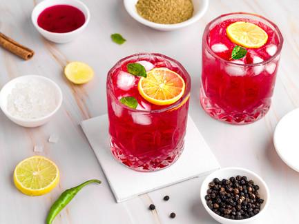 Raspberry Lime Cooler