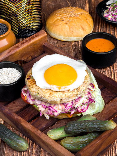 Chef's Special Chicken Burger
