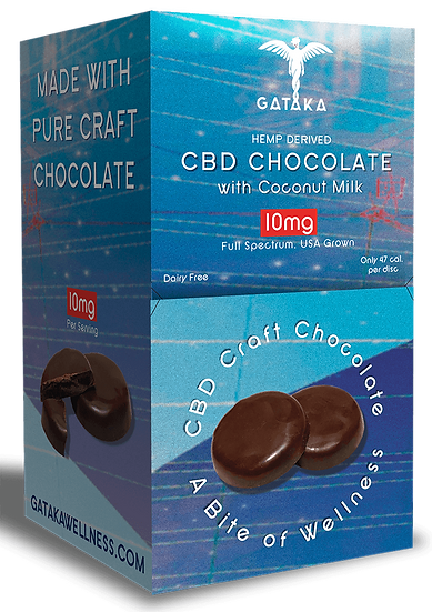Bulk Size | Coconut Milk Chocolate discs