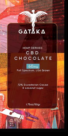 GATAKA Dark Chocolate/  60mg CBD