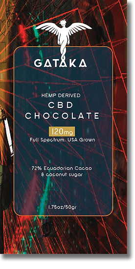 GATAKA Dark Chocolate / 120mg CBD