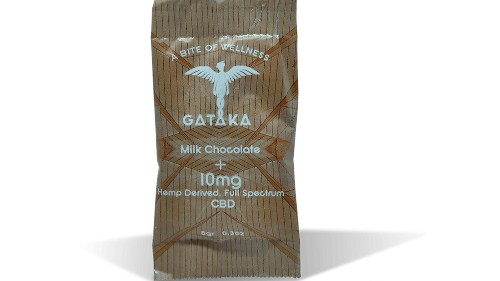 Milk Chocolate  disc / 10mg CBD