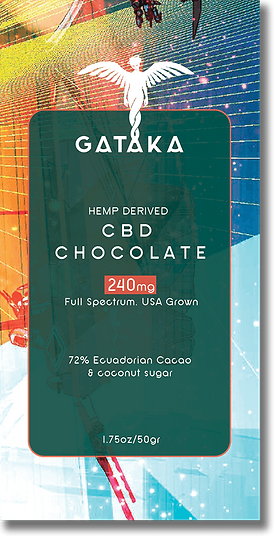 GATAKA Dark Chocolate / 240mg CBD