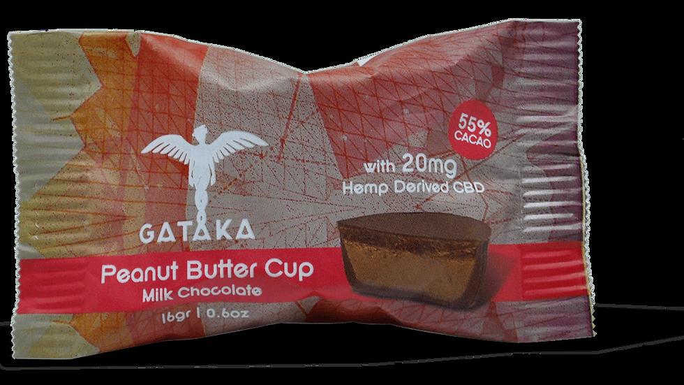 Peanut Butter Cup (milk chocolate) / 20mg CBD