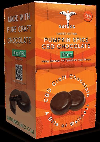 Bulk Size | Pumpkin Spice chocolate discs