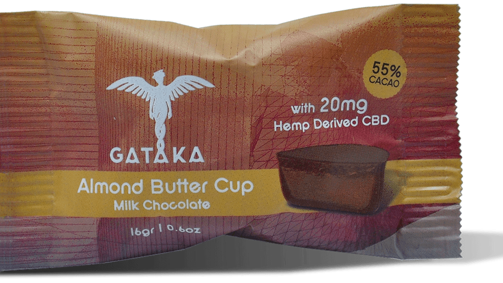 Almond Butter Cup (milk chocolate) / 20mg CBD