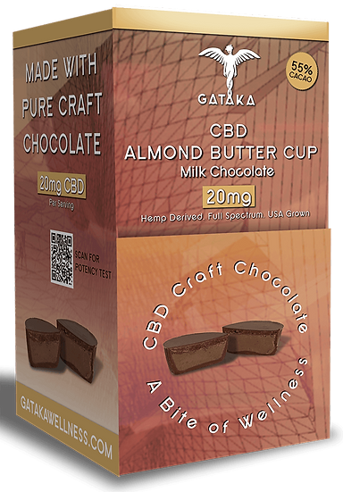 Bulk Size | Almond Butter Cups (dairy)