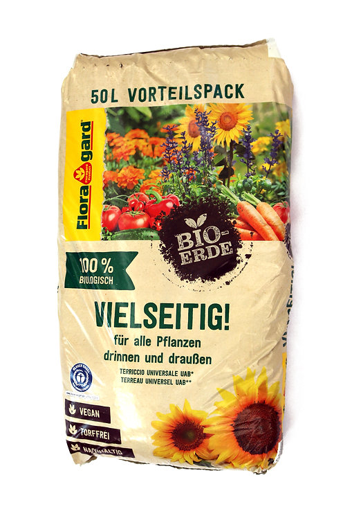 Gartenerde Bio 50ltr