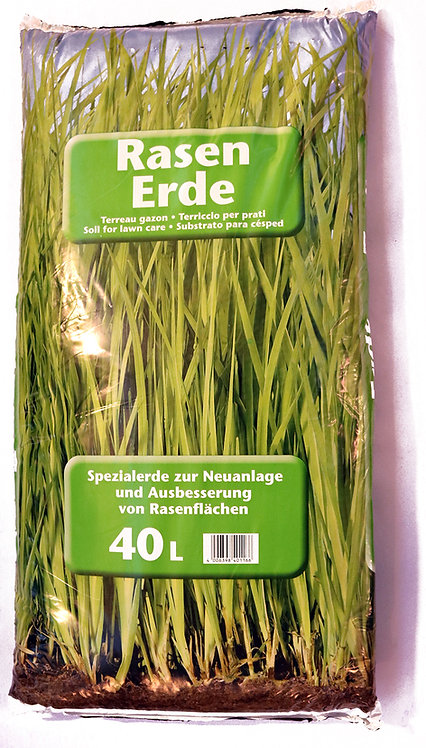 Rasen Erde 40 ltr