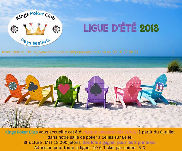 Ligue d'été - Kings Poker Club