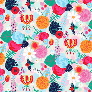 Oh Hello Petal floral pattern