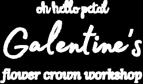 Oh Hello Petal Galentines