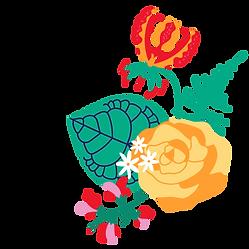 gloriosa rose jasmine sweetpea