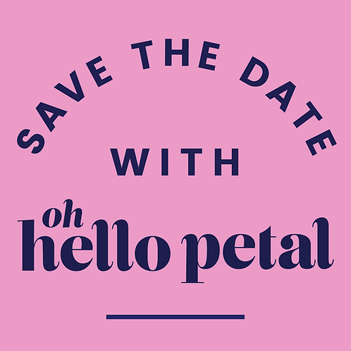 Save The Date Booking Fee — use code SAVETHEDATE at checkout!