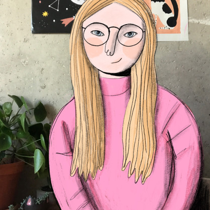 Meet Mia and her daily illustration process