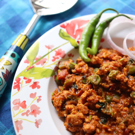 Easy Chicken Kheema Masala