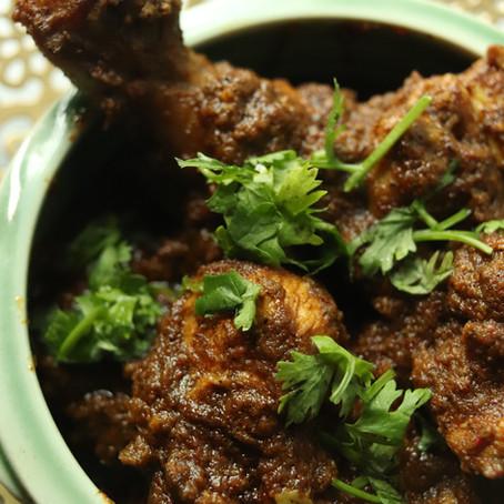 Nagpur Style Saoji Chicken Curry