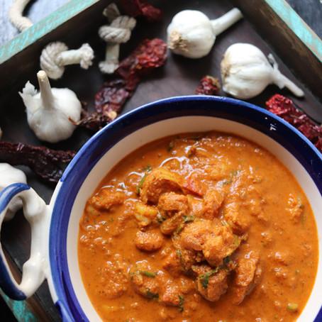 Prawn Xec Xec - Goan Prawn Curry